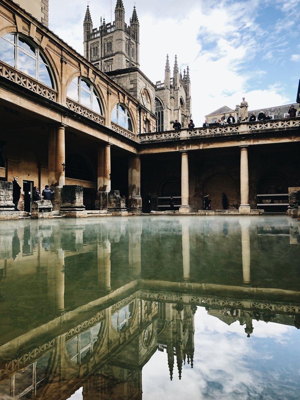 Roman Baths | Bath, England | Sea of Atlas