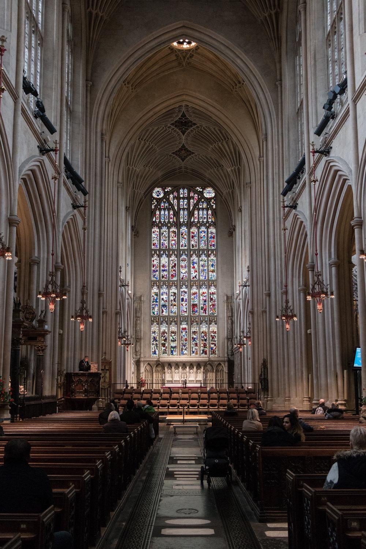 Bath Abbey | Bath, England | Sea of Atlas