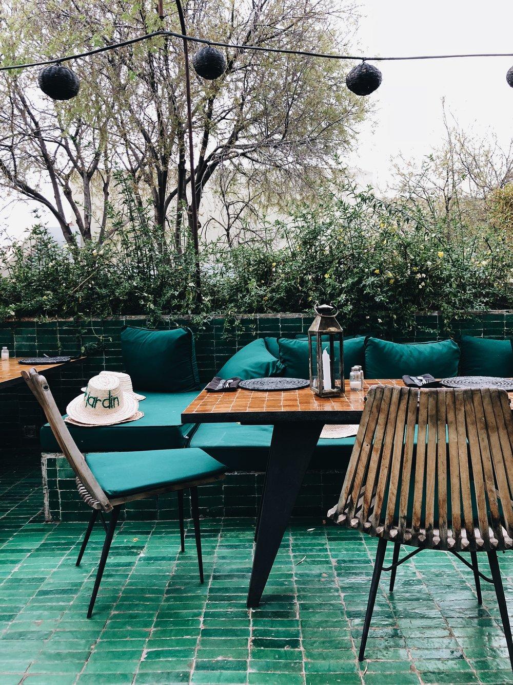 Le Jardin | Marrakech, Morocco | Ciao Fabello