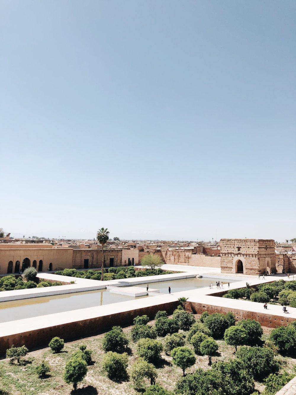 El Badi Palace | Marrakech, Morocco | Ciao Fabello