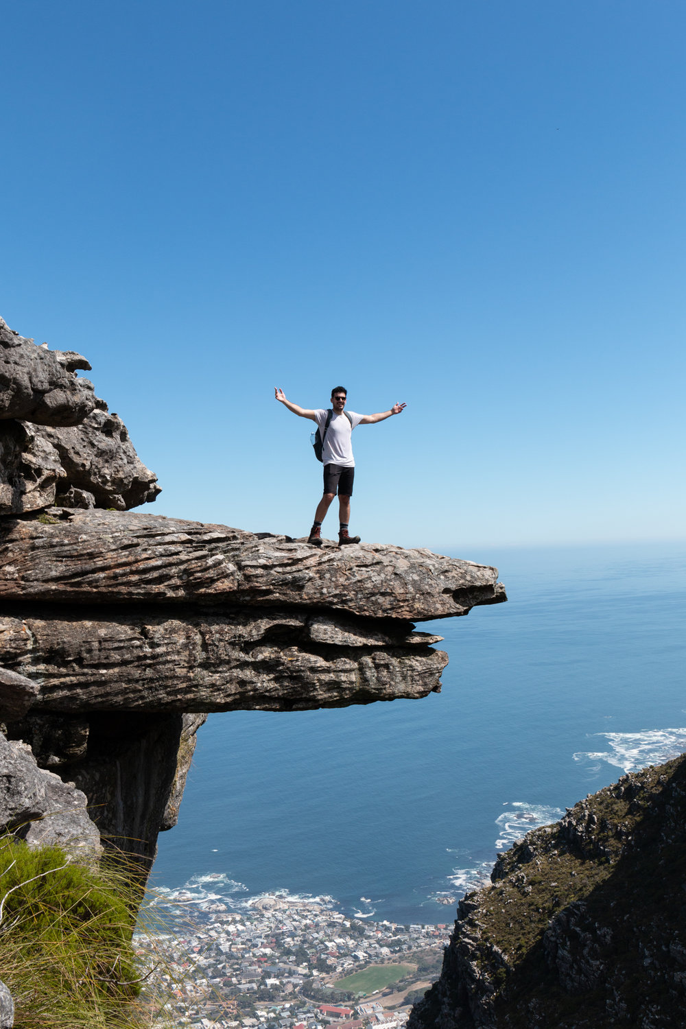 Diving Board, Table Mountain | Cape Town, South Africa | Ciao Fabello