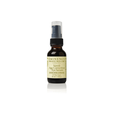 Eminence Neroli Eye Serum a retinal alternative builds collagen and firms the skin.