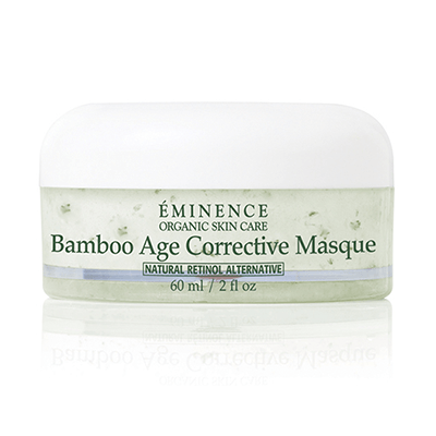 BAMBOO FIRMING MASQUE: A rich, creamy mask that you can sleep over night in! Very moisturizing and firming, with a Natural Retinol Alternative to build collagen, Shea Butter, Argan oil, and Bamboo extract for a luxurious feeling mask! Great for dry and aged skins who need a collagen boost!