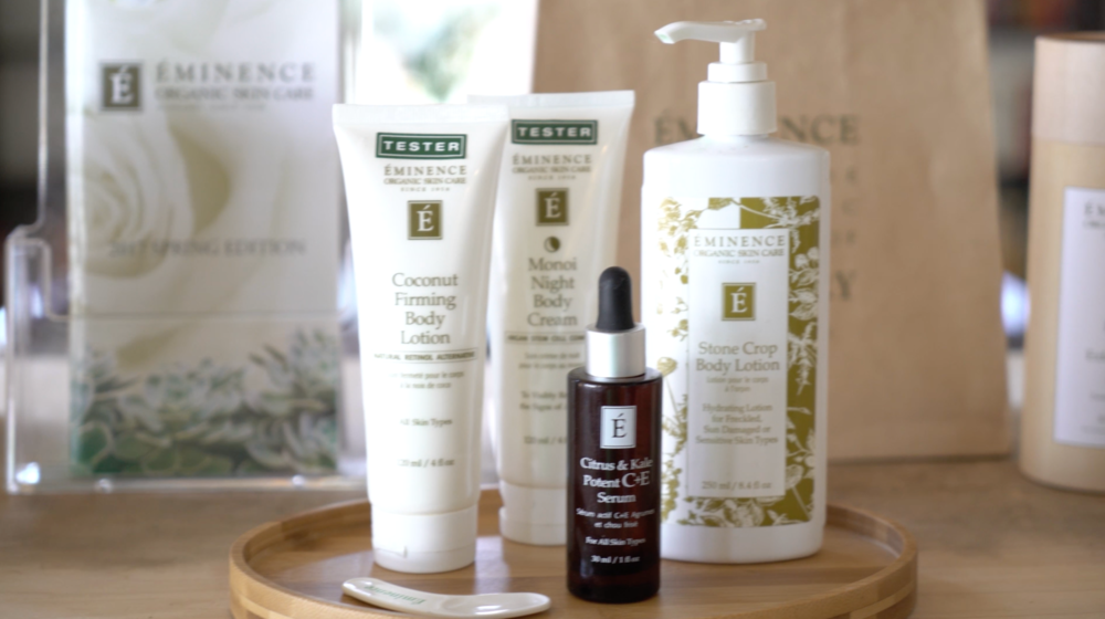 Eminence Organic Skincare from Hungary