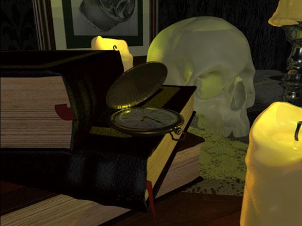 """...""""Spooky."""""""