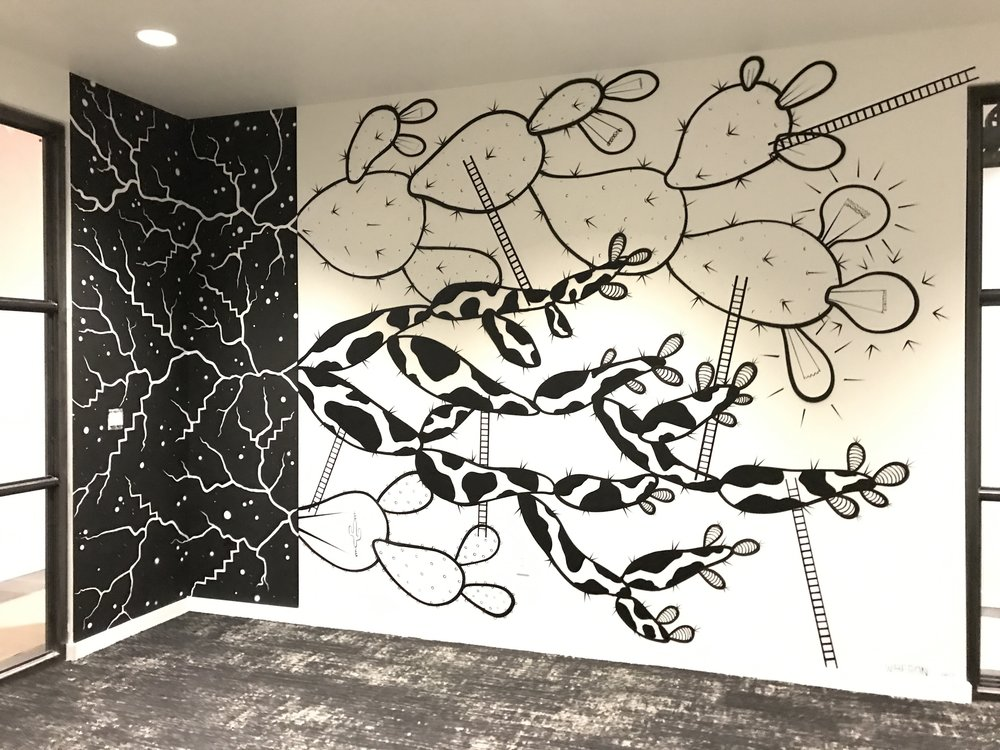 Roots & Ladders Ft. Worth, TX. September 2017 Commissioned by Common Desk.