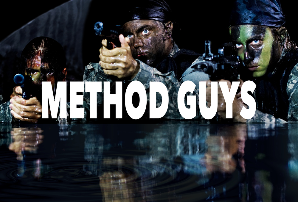 Forget whatyou know about filmmakers:meet the Method Guys...