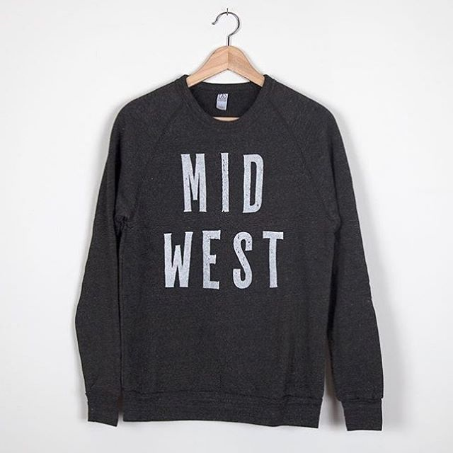 Still looking for the perfect gift?!?!! Our cozy MIDWEST sweatshirt is it!  And there's still time to snag one before the Christmas shipping deadline.