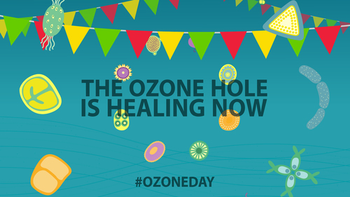 Taken from the 'Ozone Song' World Ozone Day, 2015 produced by Carbon Visuals.
