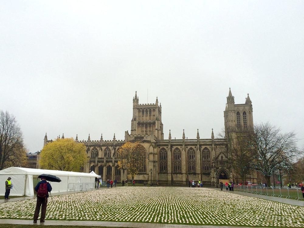 19,240 Shrouds in Bristol, (Image: (cc-by) Adam Nieman)