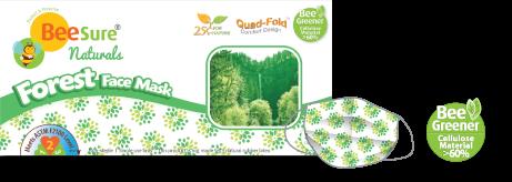 Forest Green Masks