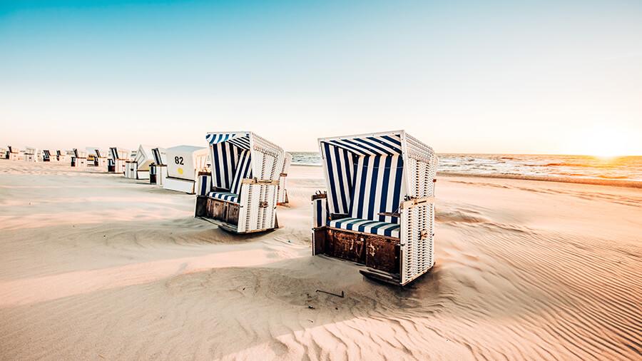 Der Sylter Strand by  Nann-Nauke Jaschinski