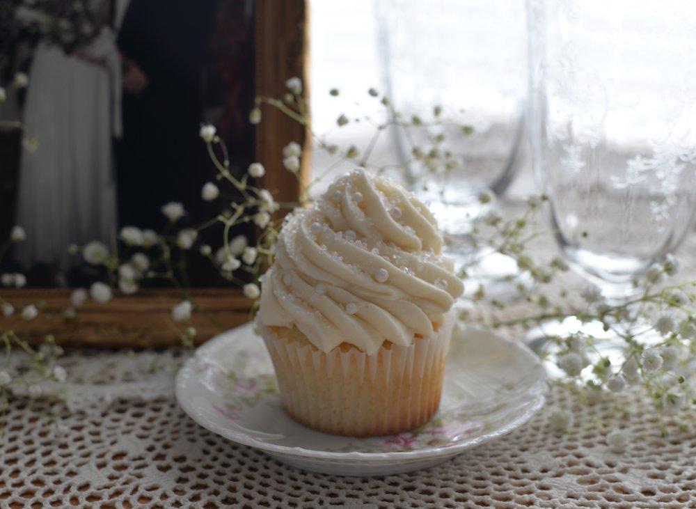 Vanilla with Vanilla Buttercream