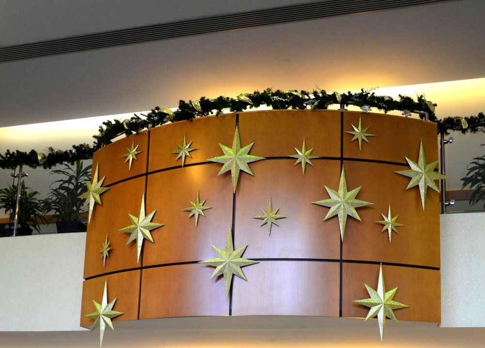 Harding Botanicals. Holiday Design. Lobby Design