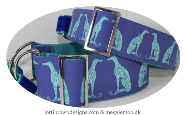 Beautiful blue and turquoise collars