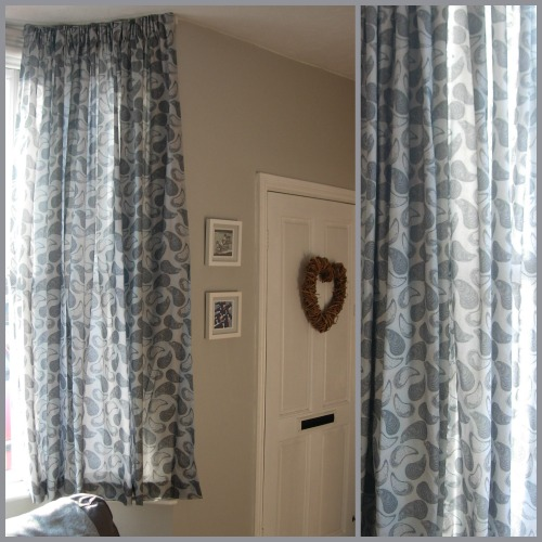 My 'Totaig Mussels' design has been made into these beautiful curtains