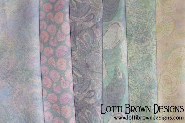 The Beachcomber fabric collection by Lotti Brown