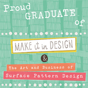 Copy of Art & Business of Surface Pattern Design graduate