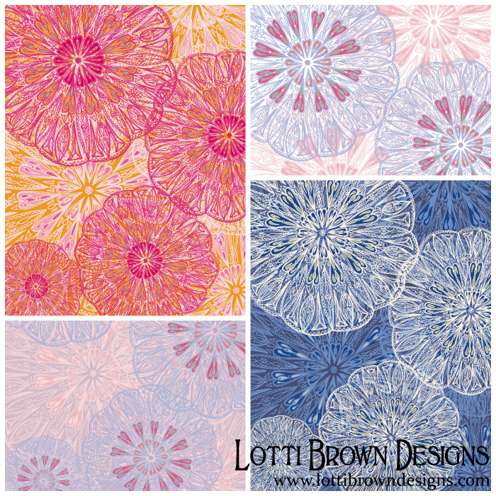 Love Mandala mini collection by Lotti Brown