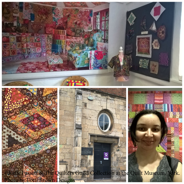 Visiting the 'Ancestral Gifts' exhibition at the Quilt Museum & Gallery in York UK