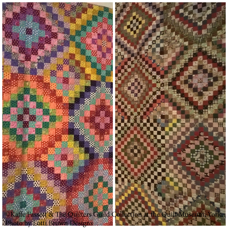 Quilt designs by Kaffe Fassett & The Quilters' Guild