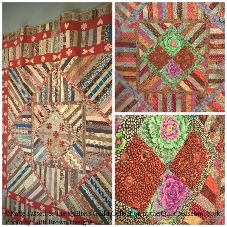 Quilt designs by Kaffe Fassett & The Quilters' Guild Collection