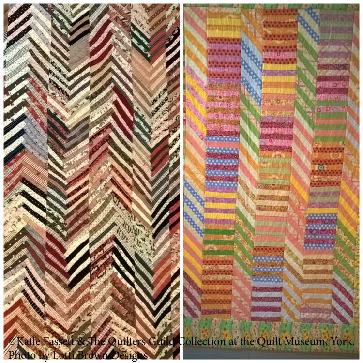 Quilt designs by Kaffe Fassett & The Quilters' Guild Collection,