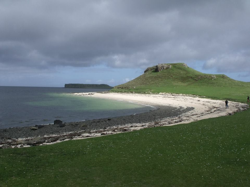 Beachcombing on Skye - what gorgeous beaches!