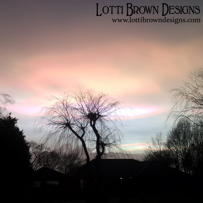 Rainbow clouds, 1st Feb 2016, East Yorkshire