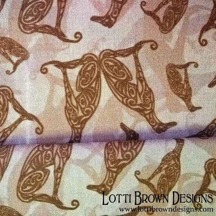 Greyhound camo fabric pale neutral