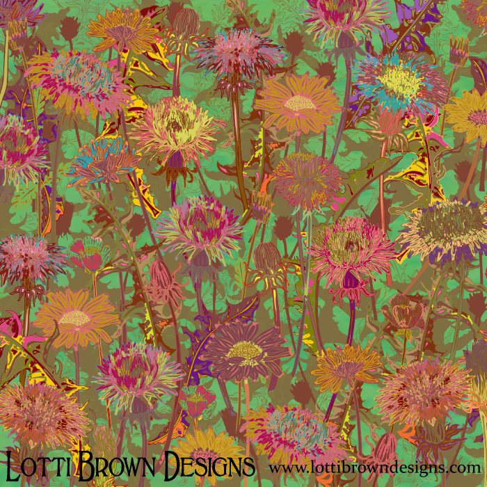 Dandelion Dawn, by Lotti Brown