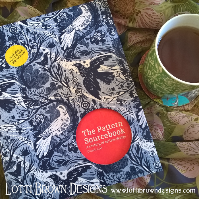 Book review - The Pattern Sourcebook; A century of surface design, by Drusilla Cole