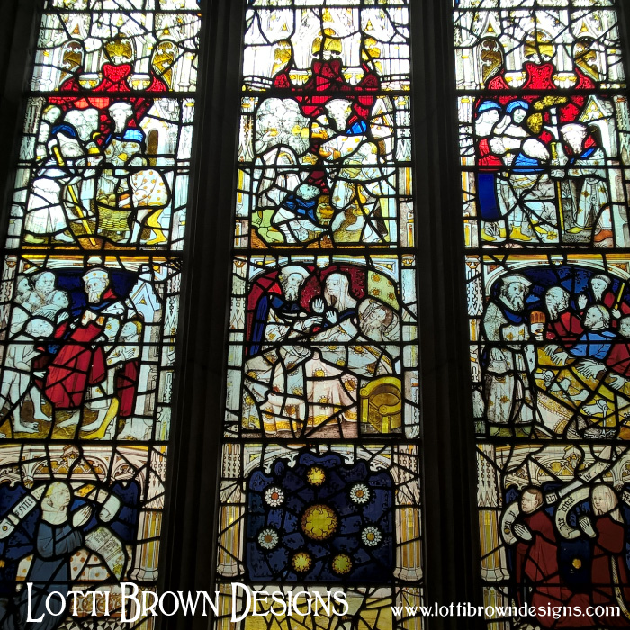 The 'Corporal Acts of Mercy' window c.1410