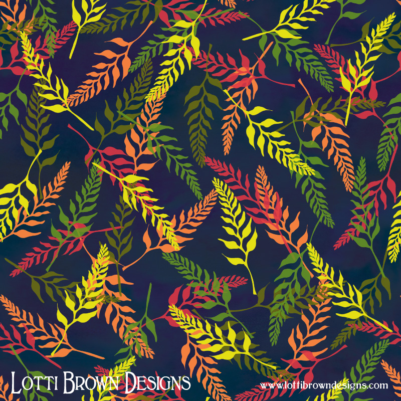 Tropical Bud Pattern 2