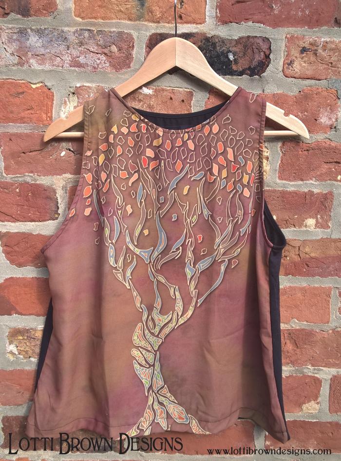 Fantasy Fall Tree fashion top