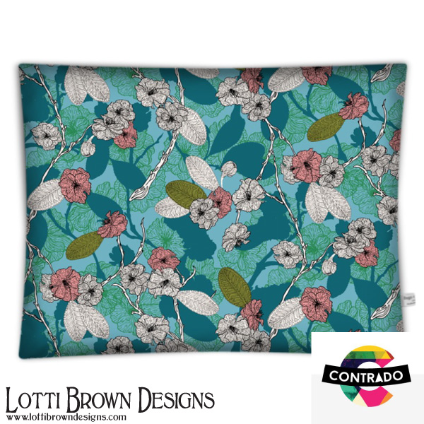 Cherry Blossom Floor Cushion