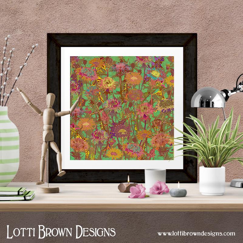 Dandelion Dawn art print