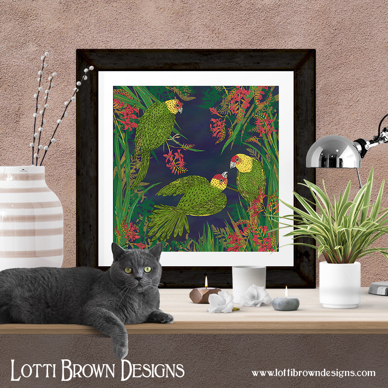 Unframed art prints available from my online art store