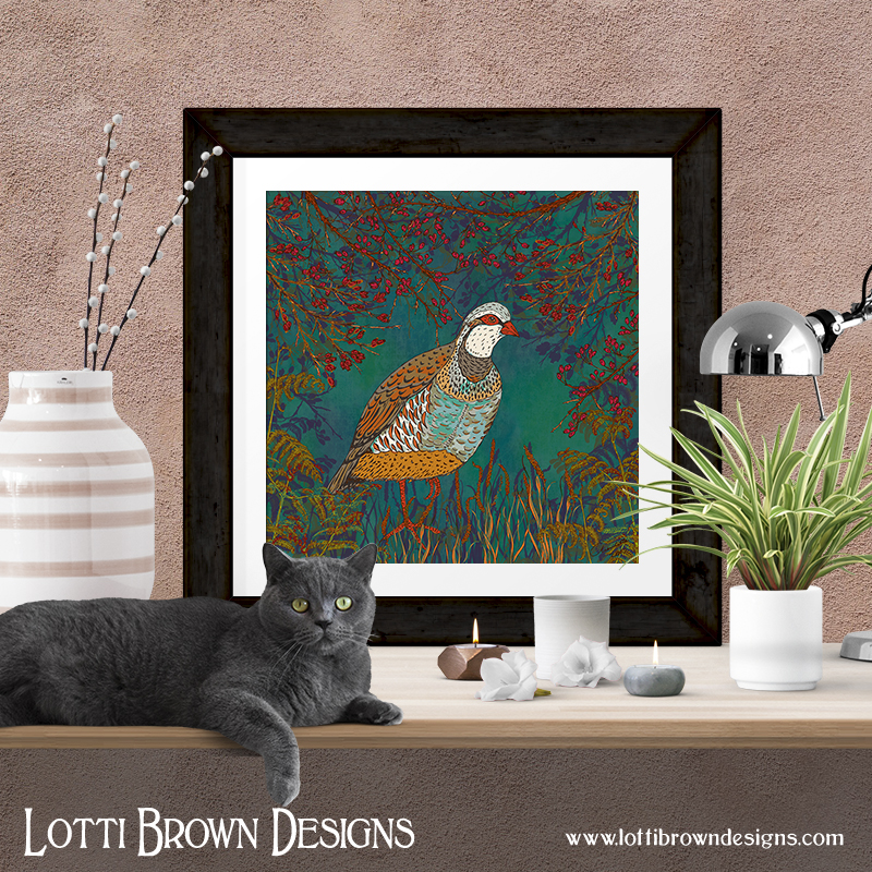 Framed and unframed art prints are available, with other items, from my online art store at Fine Art America (see details of stockists below)