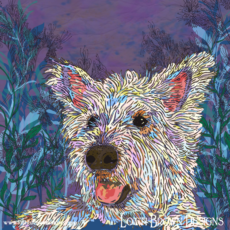 Westie Fun - click image to go behind the scenes
