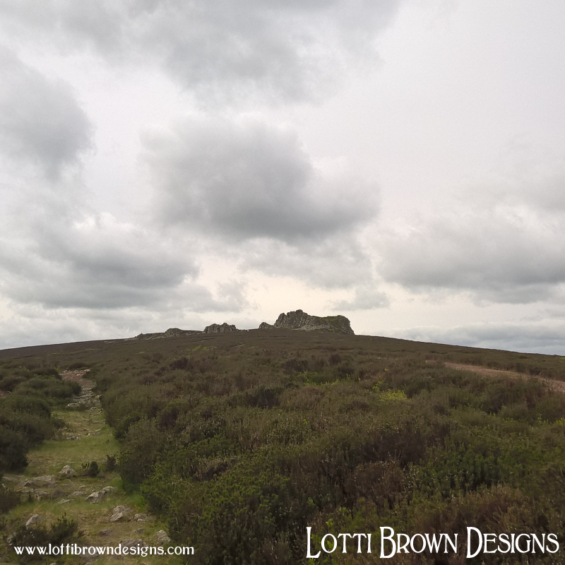 Walking the rocky Stiperstones ridge to the Devil's Chair