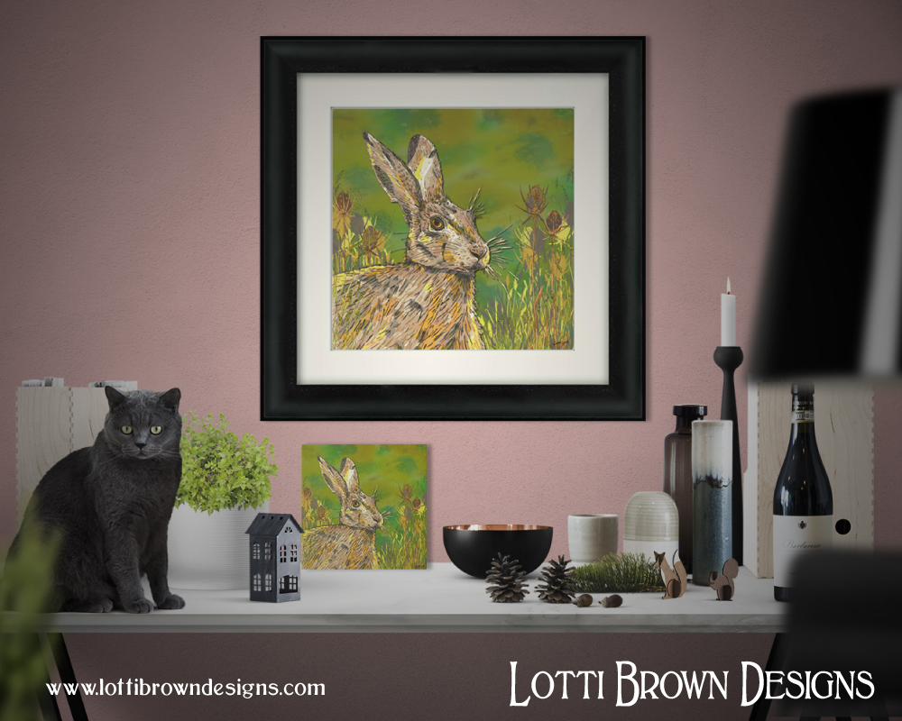 New frames and mini art boards now available at Lotti Brown Designs