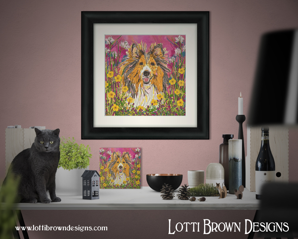 sheltie_art_framed_display.jpg