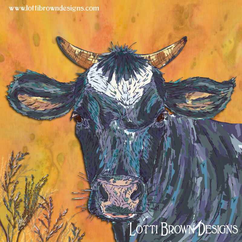 'The Cow's Nose' artwork by Lotti Brown