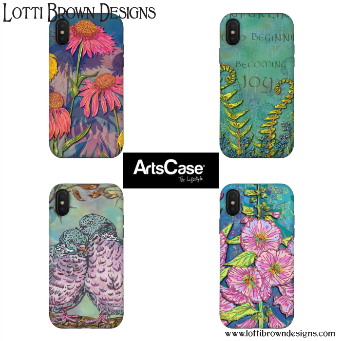 A selection from my new designs at Artscase.com