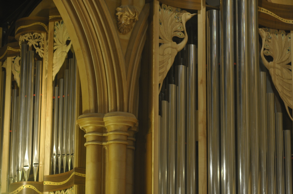 The Manton Memorial Organ by Pascal Quoirin, inaugurated in 2011