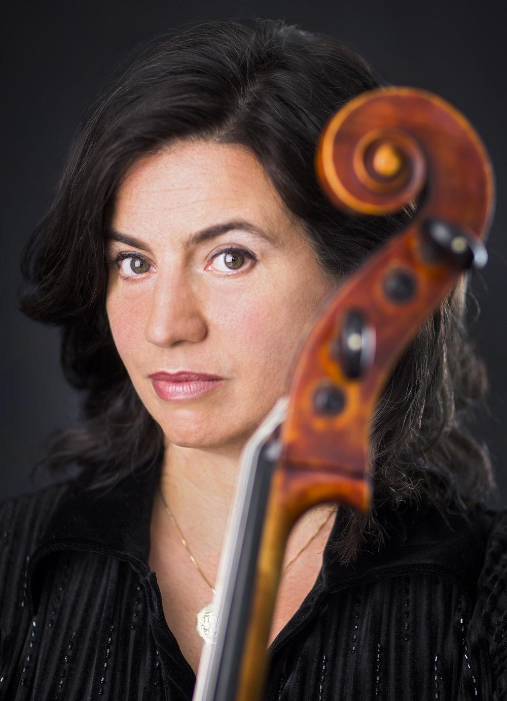 Cellist Maria Kitsopoulos