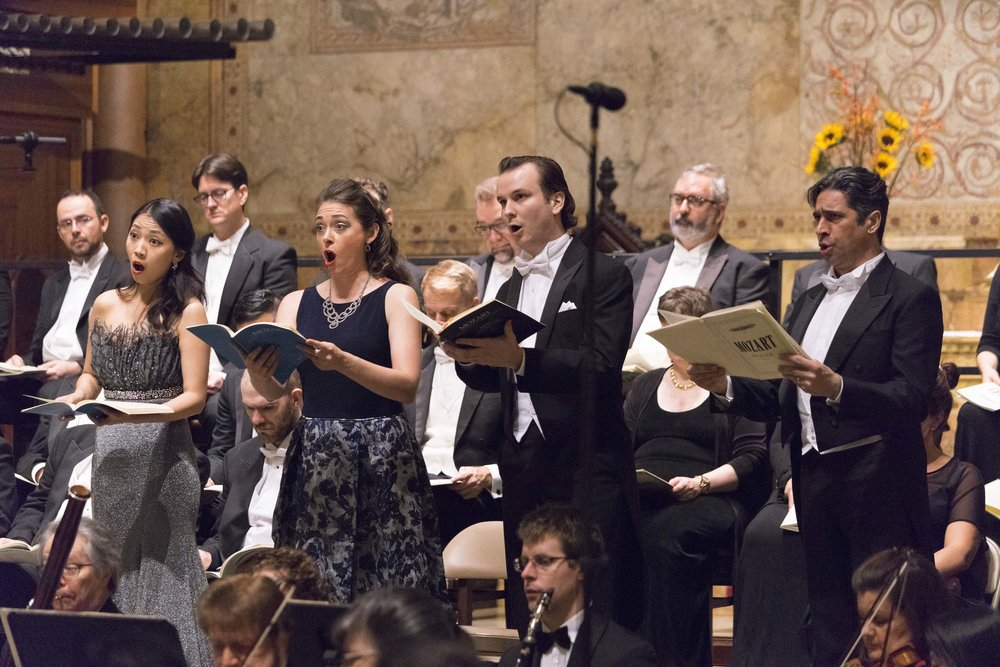 Soloists: Pureum Jo, Heather Petrie, Brian Michael Moore, & Ildebrando D'Arcangelo