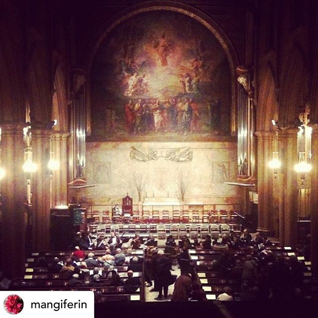 Check out this stunning photo by @mangiferin taken at our performance of Bach's Mass in B minor. We hope you will join us for our Renaissance Concert on May 1!  #choir #choral #nychoral #vocal #classical #classicalmusic #ny #nyc