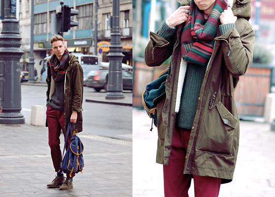 2908093_outfit-winter-fall-spring-parka-menswear-smizedivat-chaby-look-menstyle-backpack-hátizsák-zöld-bordó-nagykabát-_(3)
